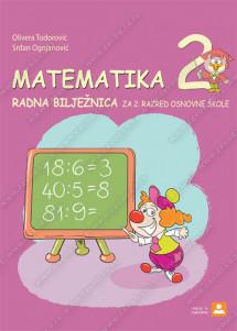 MATEMATIKA 2 – radna bilježnica za 2. razred osnovne škole – hrvatski j.