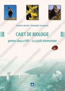 CAIET DE BIOLOGIE pentru clasa a VIII – a a şcolii elementare
