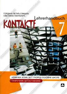 KONTAKTE 7 – PRIRUČNIK ZA NASTAVNIKE – Nemački jezik za 7. razred osnovne škole