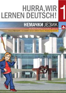 HURRA, WIR LERNEN DEUTSCH! 1 – nemački jezik za 5. razred (2019. god.)