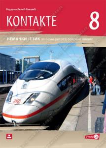 KONTAKTE 8 – nemački jezik za 8. razred osnovne škole(2019.god.)