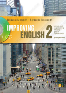 IMPROVING ENGLISH 2 – ENGLESKI JEZIK – udžbenik za 2. razred + CD