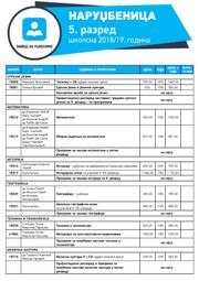 Katalog - Osnovna škola