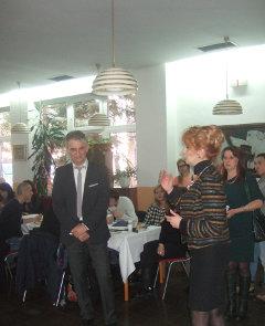 """U svečanoj atmosferi doma za decu """"Jovan Jovanović Zmaj"""" i uz druženje sa ljubaznim domaćinima."""